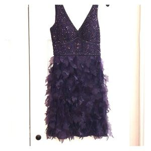 Purple cocktail dress- perfect for a wedding!